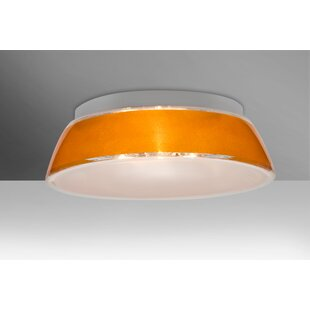 Pica 3-Light Outdoor Flush Mount by Besa Lighting