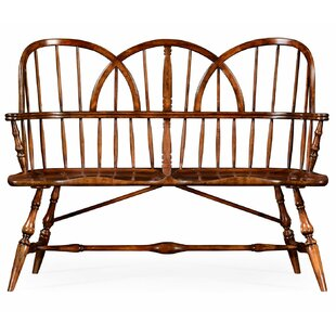 Windsor Two Seat Wood Bench
