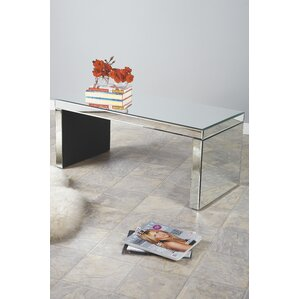 Bridget Mirrored Coffee Table by Statements ..