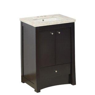 Hardenburgh Drilling Floor Mount 32 Single Bathroom Vanity Set by Latitude Run