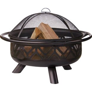 Uniflame Corporation Steel Wood Burning F..
