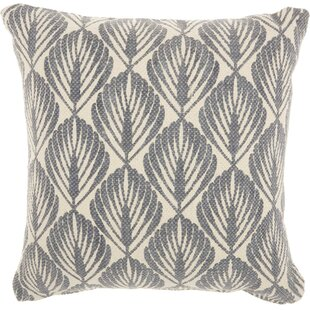 Leaves 100% Cotton Throw Pillow