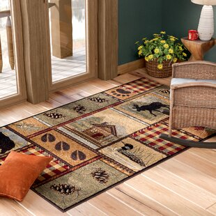 Green Hunting Lodge Area Rugs You Ll Love In 2021 Wayfair