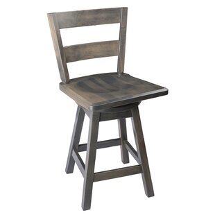 Caire 24 Swivel Bar Stool Loon Peak