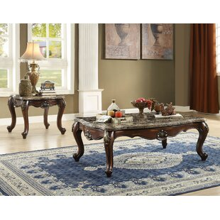 Roberson 2 Piece Coffee Table Set by Fleur De Lis Living