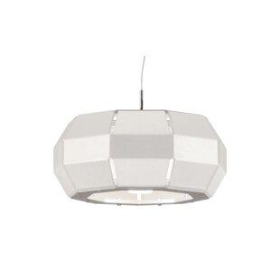 &'Costa 1-Light Geometric Pendant