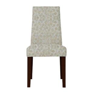 Haddonfield Beige Side Chair (Set of 2) by Latitude Run