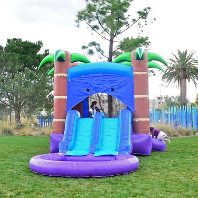 Enchanted Forest Inflatable Bounce House HeroKiddo