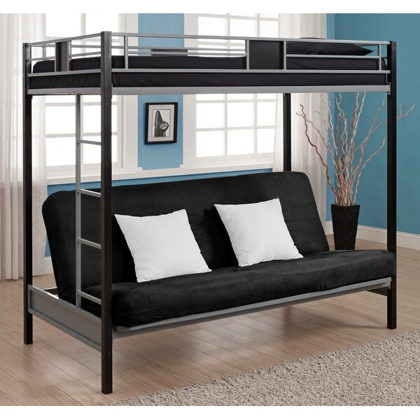 Couch Bunk Bed viv + rae elya twin over full bunk bed & reviews | wayfair
