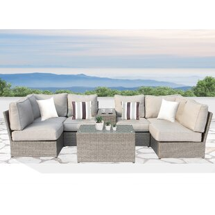 Winsford 8 Piece Sofa Set with Cushions