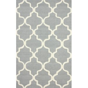 Parkman Holly Hand-Woven Gray Area Rug