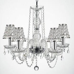 Kibby 4-Light Shaded Chandelier by House of Hampton