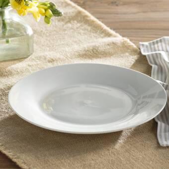 Kahla Five Senses White 10 6 Dinner Plate Wayfair