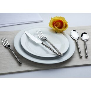 Handmade 20 Piece 18/10 Stainless Steel Flatware Set, Service for 4