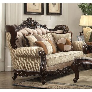 Reviews Leon Standard Loveseat by Astoria Grand Reviews (2019) & Buyer's Guide