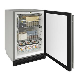 Outdoor Reversible Hinge Stainless 20 4.8 cu. ft. Convertible Undercounter Refrigeration by U-Line