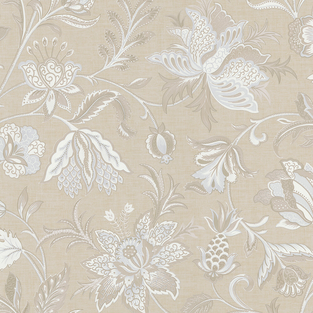 Brewster Home Fashions 33 X 205 Hollie Jacobean Wallpaper