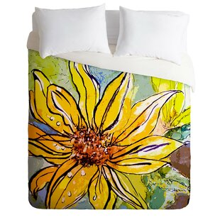 East Urban Home Fine Art Sunflower Ribbon Du..