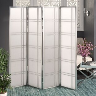 Reviews Lana 4 Panel Room Divider By Ebern Designs