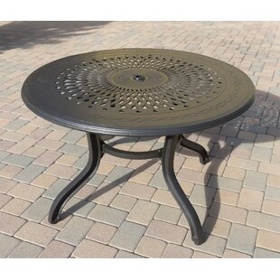 Phoenix Metal Dining Table by DHC Furniture