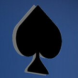 Spades Cutout Wall Decal by Wallhogs