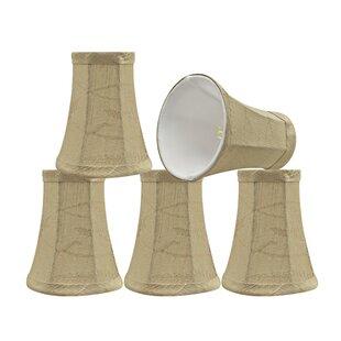 Modern 4'' Fabric Bell Lamp Shade (Set of 5)