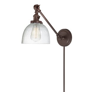 Gracie Oaks Martucci Double Swivel 1-Light Swing Arm Lamp
