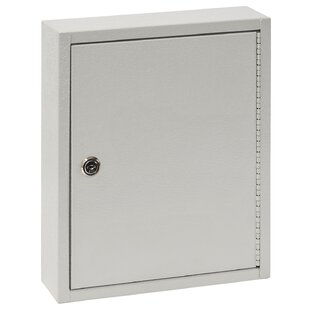Buddy Products 28 Hook Key Cabinet