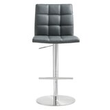 Wendy Adjustable Height Swivel Bar Stool by Orren Ellis