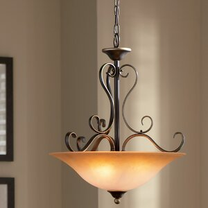 Alluvial 4-Light Inverted Pendant