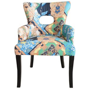 Bungalow Rose Lalla Fabric Armchair