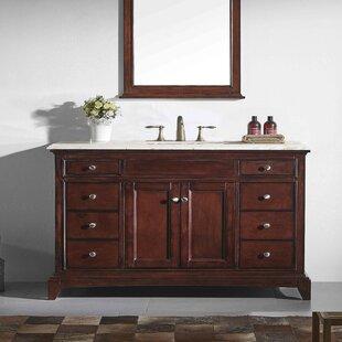 Find for Pineville 60 Single Bathroom Vanity Set ByCharlton Home