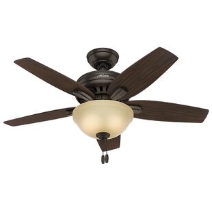 Small room ceiling fans youll love wayfair 42 newsome 5 blade ceiling fan aloadofball Gallery