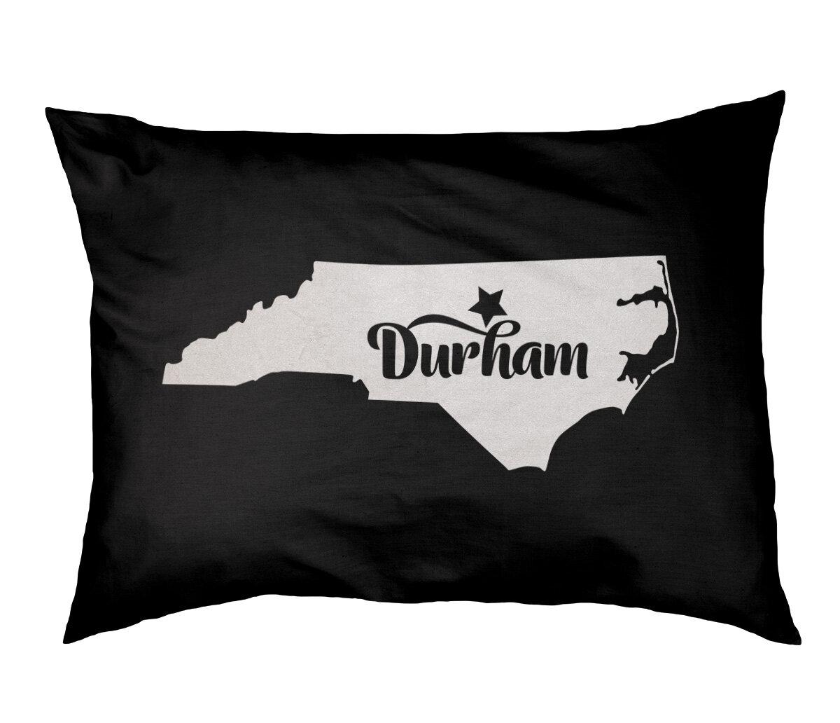East Urban Home Durham North Carolina Designer Pillow Wayfair