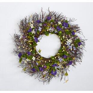 Twig and Berry Wild Flower 24\  Wreath & Wreaths