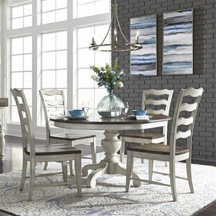 Gilbert 5 Piece Drop Leaf Dining Set August Grove