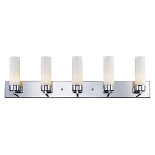 Orren Ellis Jorden 5-Light Vanity Light