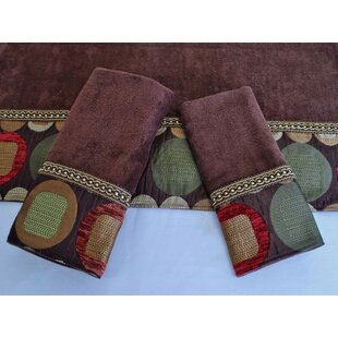 Ivy Hill Decorative 3 Piece Towel Set
