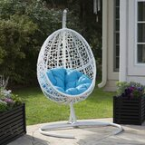 Mallett Blanca Egg Swing Chair with Stand