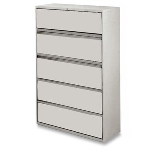 5-Drawer Telescoping Suspension Files
