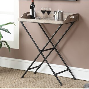 Edgewood Tray Table by Beachcrest Home