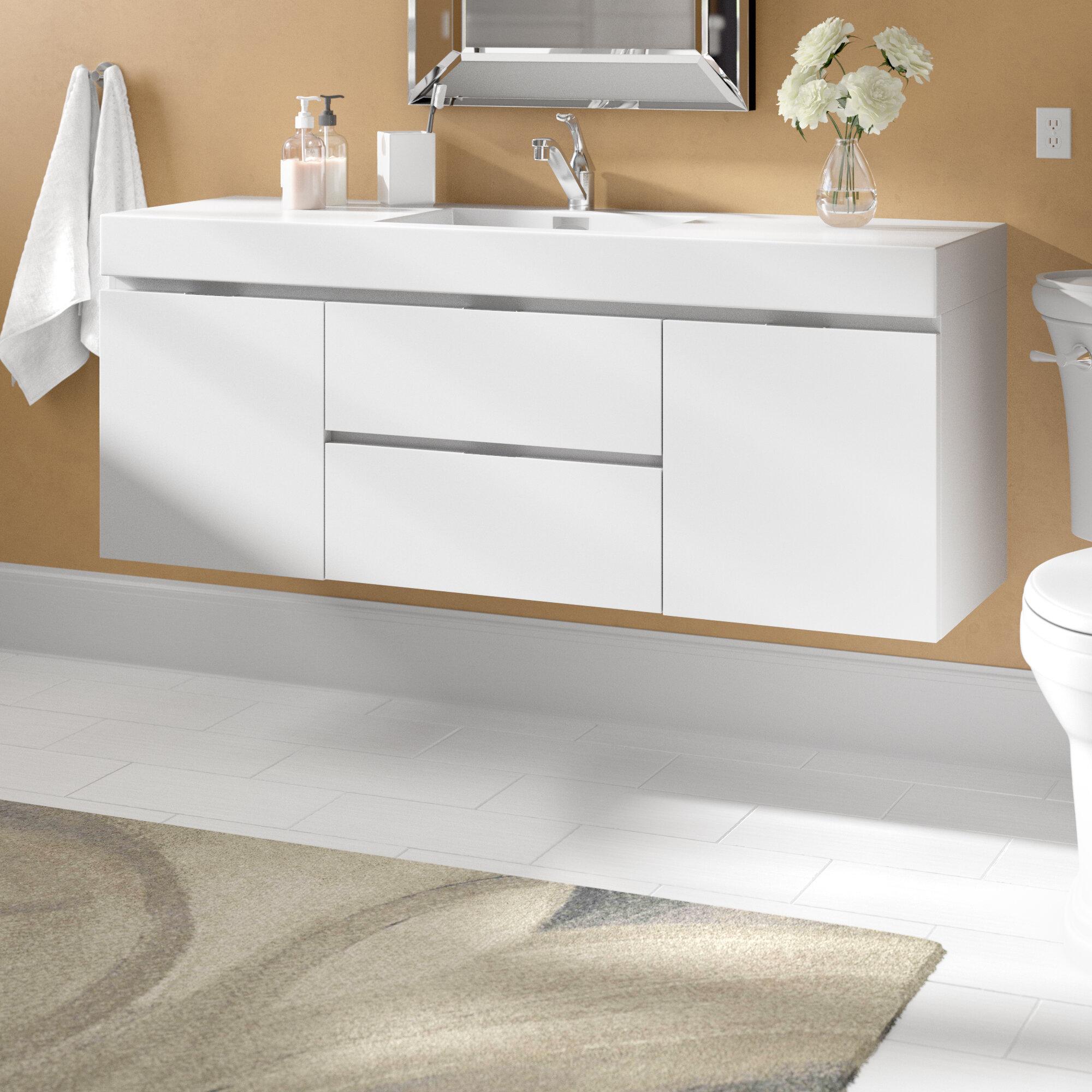 wade logan tenafly 59 single bathroom vanity set reviews ...
