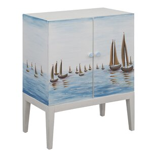 Irwin Harbor View Sailboat 2 Door Accent Cabinet by Longshore Tides