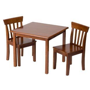 Bardwell Children's 3 Piece Table & Chair Set by Harriet Bee