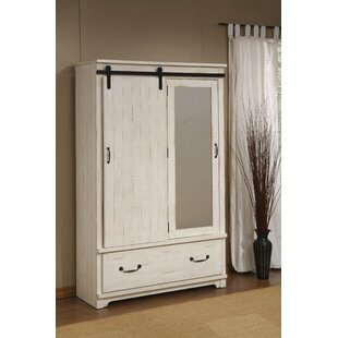 Red Barrel Studio Saige Home Farmhouse Armoire
