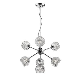 Ebern Designs Mills 7-Light LED Sputnik Chandelier