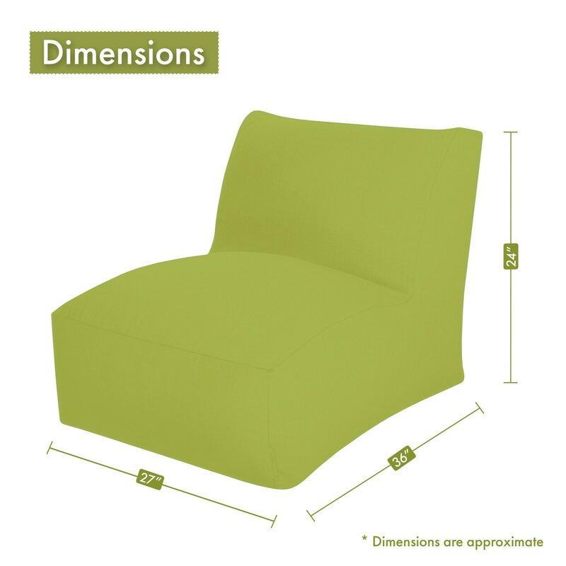 Superb Zipped Bean Bag Lounger Theyellowbook Wood Chair Design Ideas Theyellowbookinfo