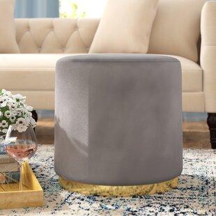 Wondrous Hedrick Velvet Ottoman Inzonedesignstudio Interior Chair Design Inzonedesignstudiocom