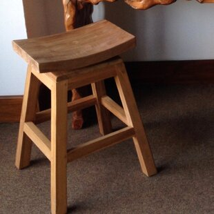 24 Swivel Bar Stool by Chic Teak