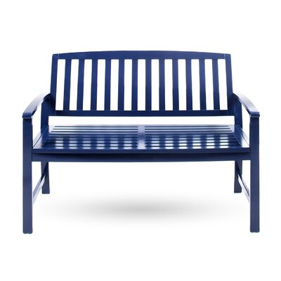 Beachcrest Home Leora Acacia Wood Garden Bench